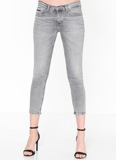 Calvin Klein Jean Pantolon | Skinny Ankle Gri
